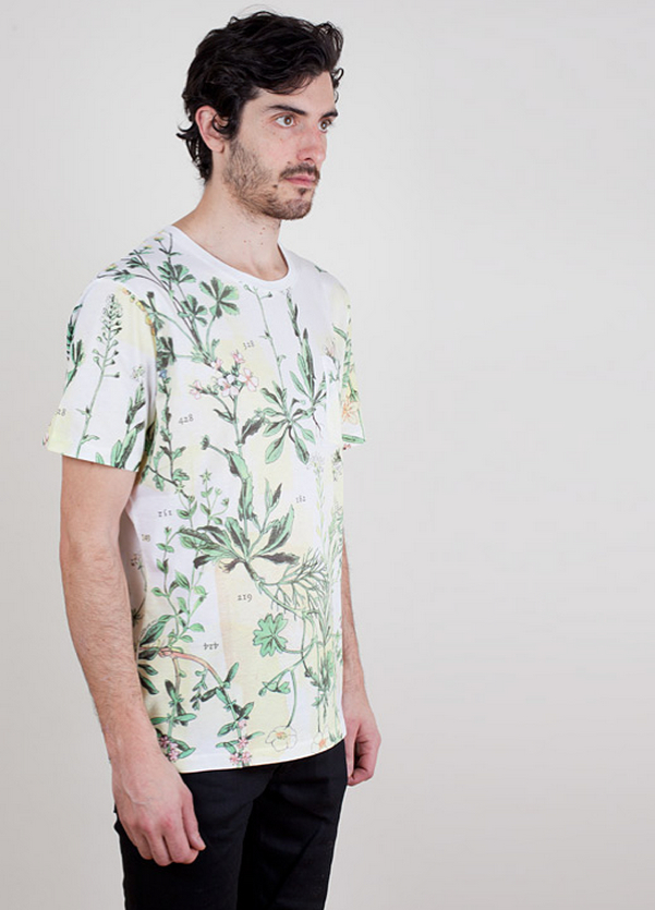 Carven Floral Print Pocket T-Shirt, White – Voo Store