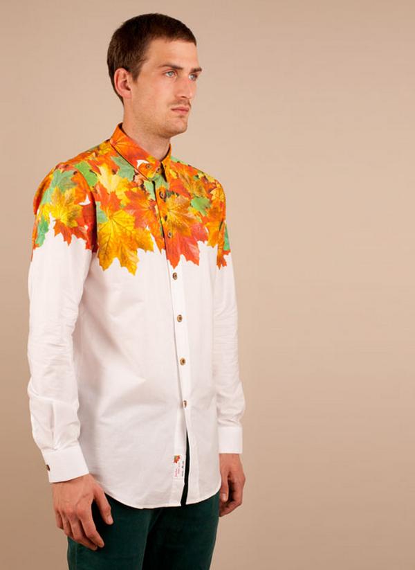 Signum x Dandy Dairy Autumn Glory Shirt, White_Print – Voo Store