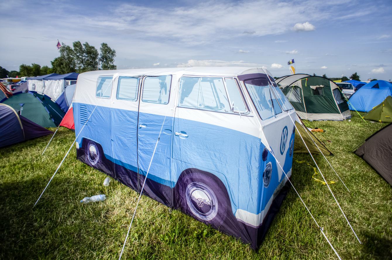 hippie van tent