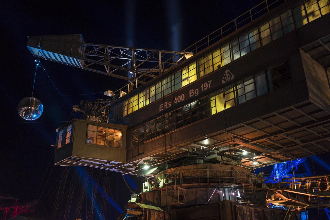 melt! ferropolis at night