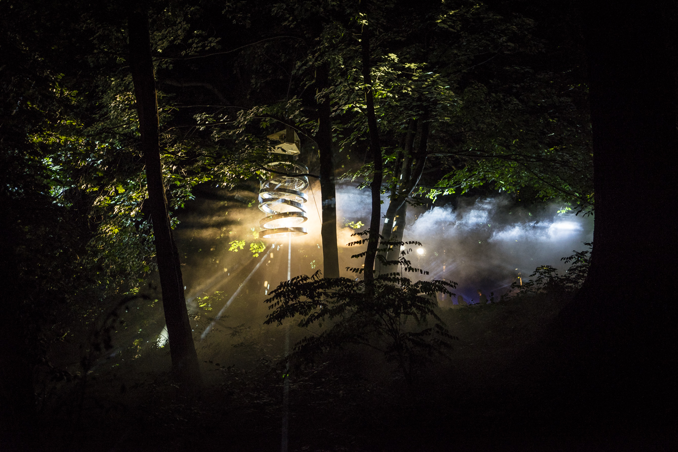 light photography_light installations at Garbicz festival 2014