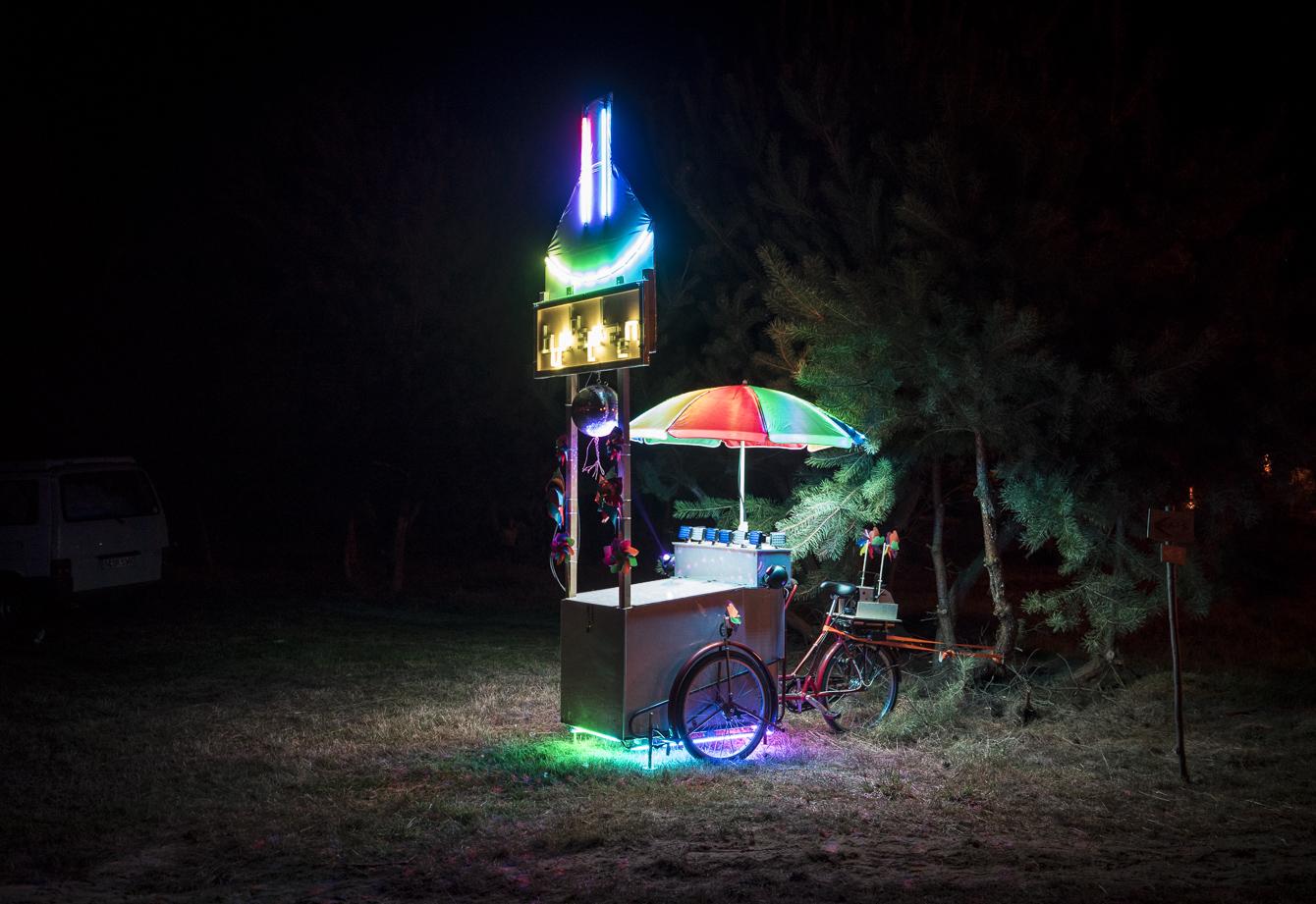 Festival Summer 2014 abandoned installation at garbicz festival 2014