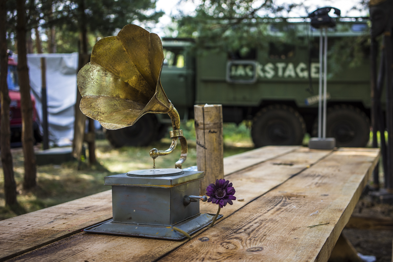 Festival Summer 2014 phonograph at Garbicz festival 2014