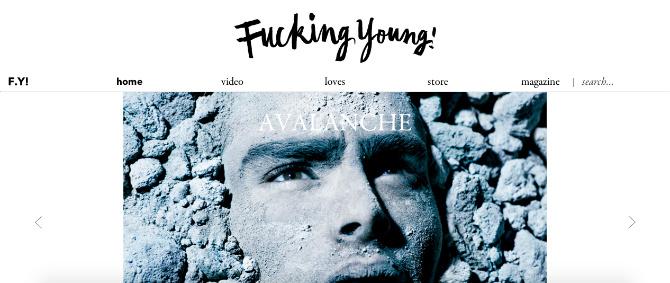 Fucking Young! Blog