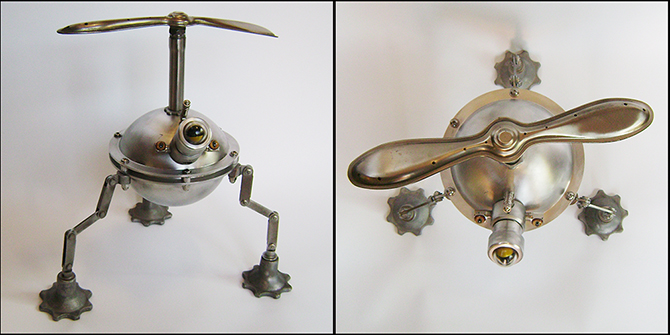 Talbotics Robot Art Sculpture