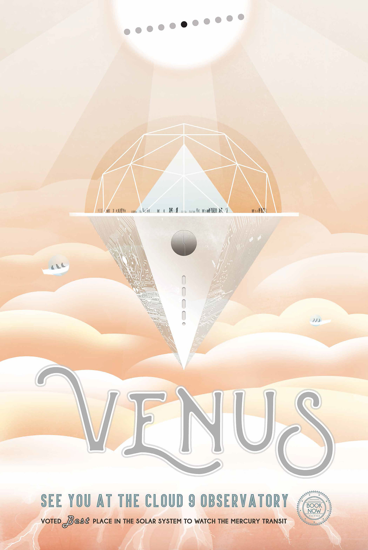 future spacetourism NASA Venus