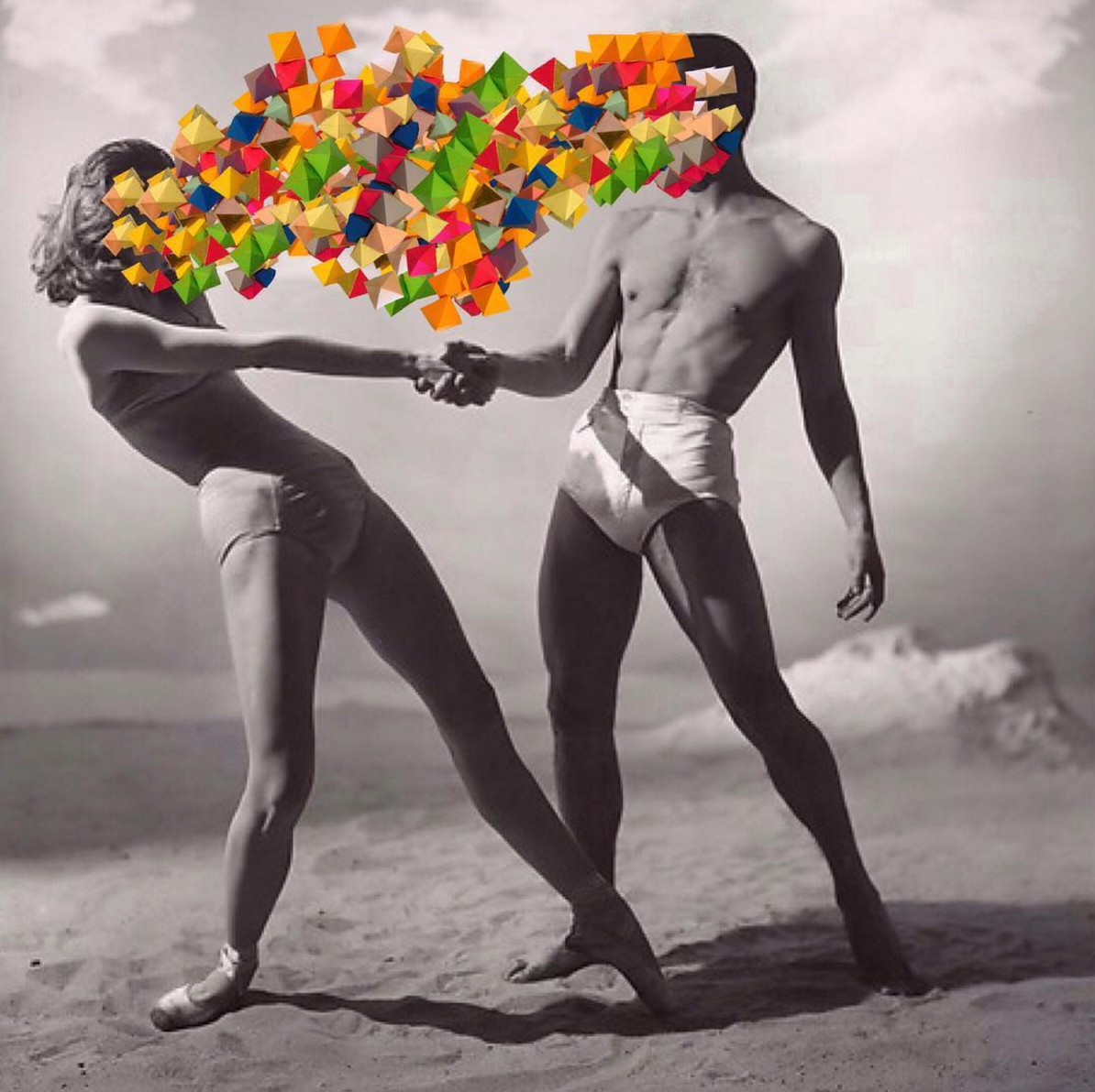 collage artworks by Johnny Smith