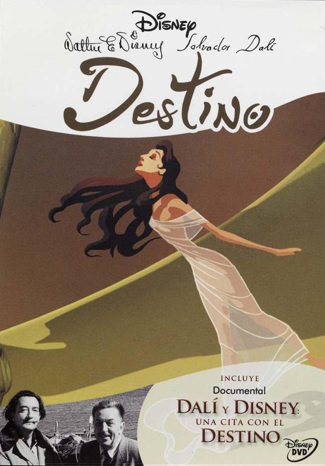 destino by dali disney 2003 cover